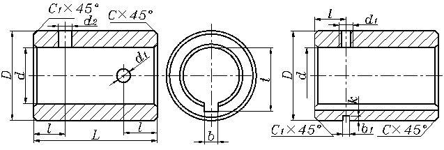 平键套筒联轴器_套筒联轴器|平键套筒联轴器-海鹏套筒联轴器_标准制造